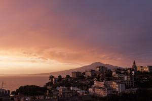 Vico Equense e il Vesuvio
