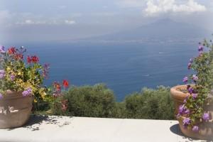 vista dalla una balconata panoramica