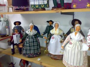 l'arte di Allauch, bambole artigianali