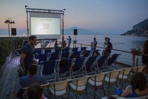 il cinema in spiaggia