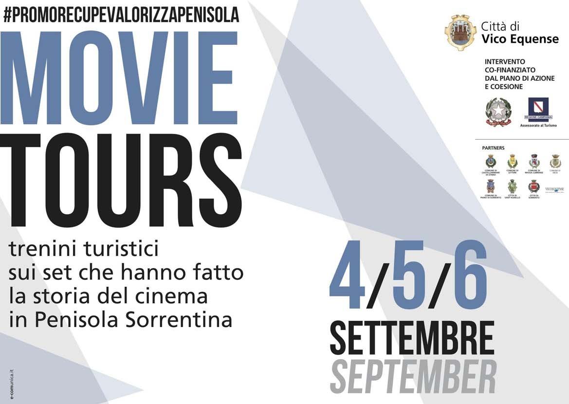 Movie Tours 4/5/6 settembre – In giro per la Penisola