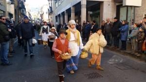 le pacchianelle: tradizione vicana