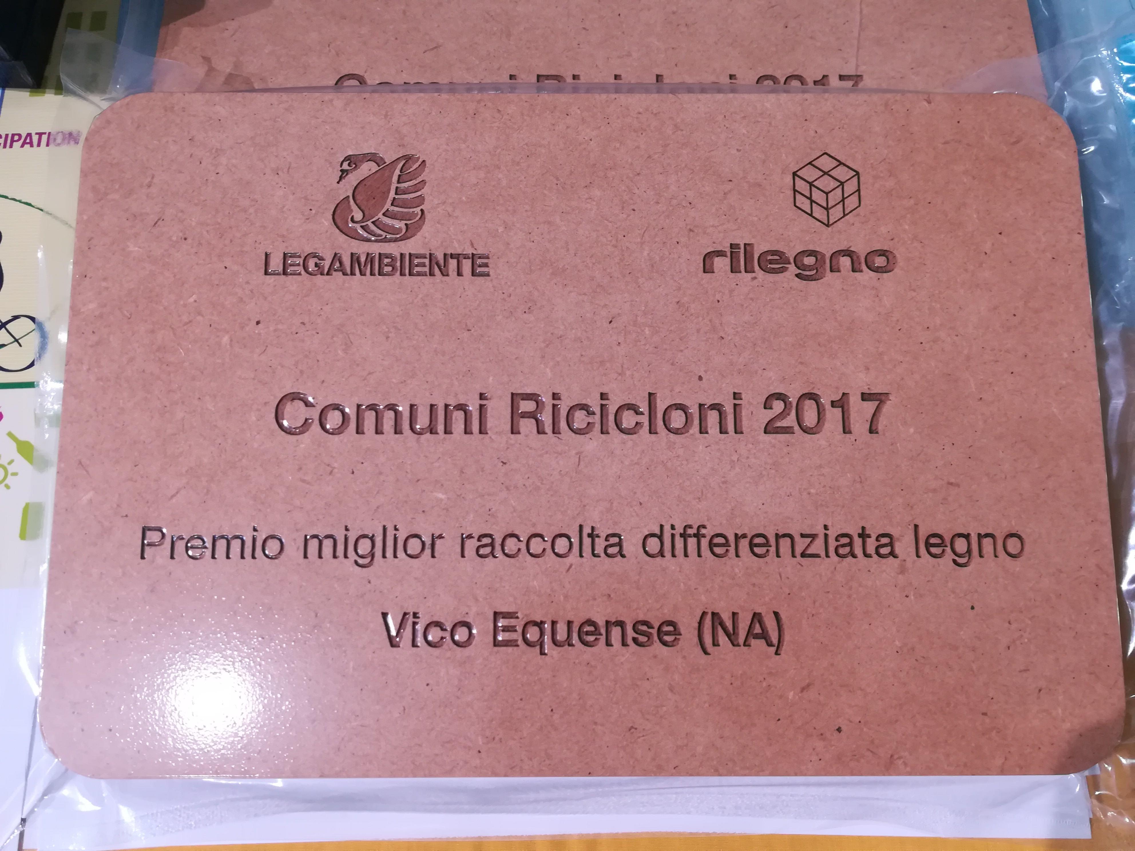 Comune Riciclone 2017 – Riduzione TARI per il 2018