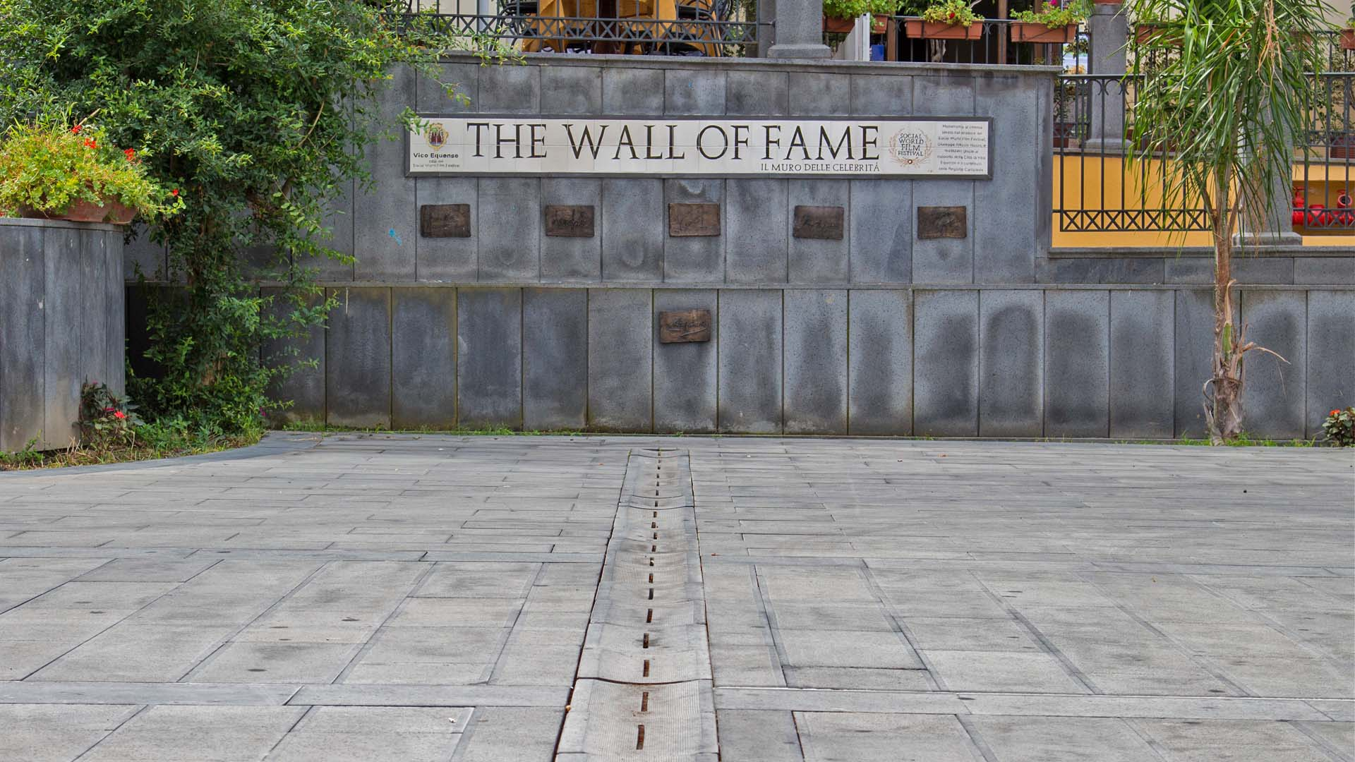 Museo del cinema - THE WALL OF FAME