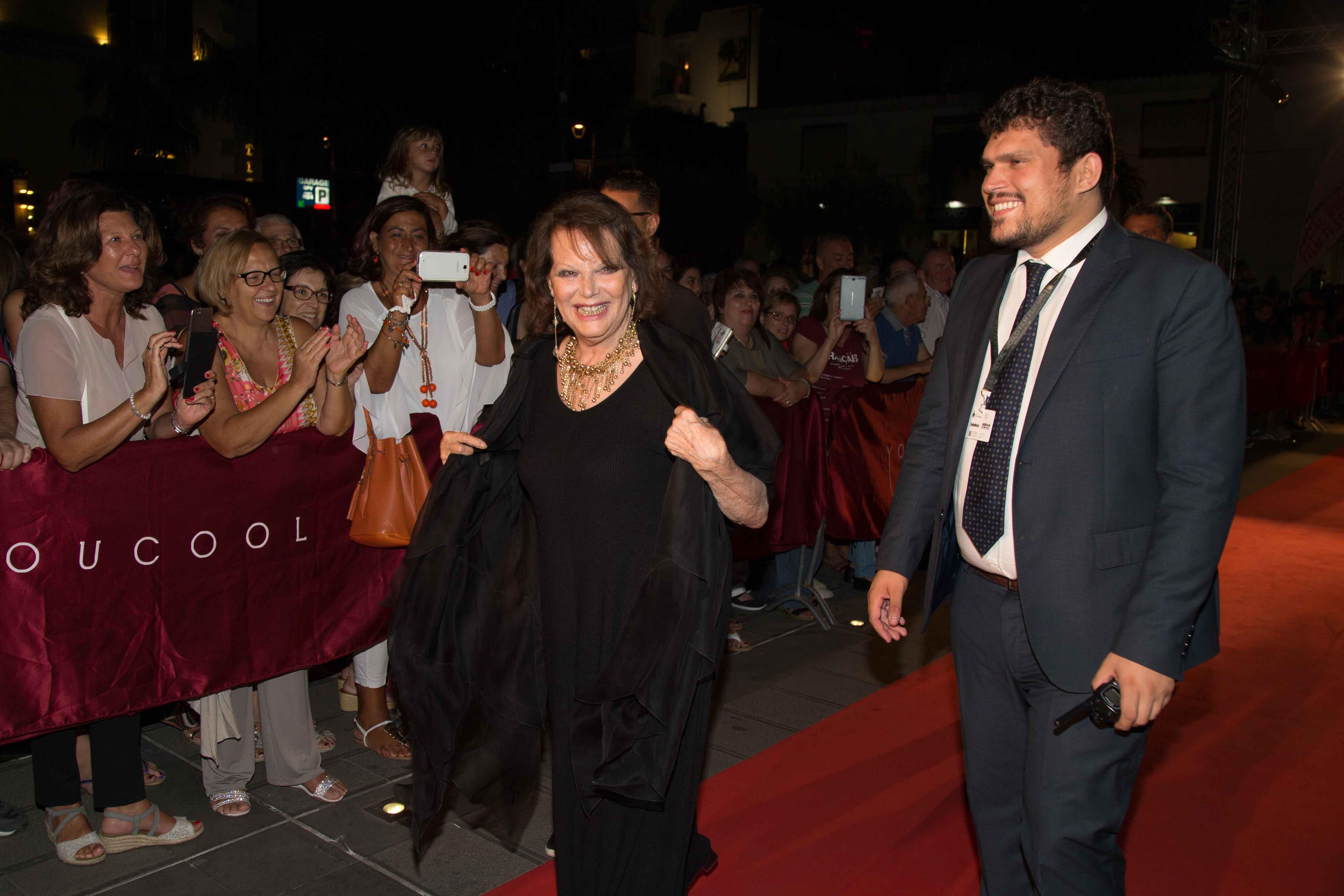 Premio alla Carriera a Claudia Cardinale insignita del titolo di Ambasciatrice del Museo del Cinema