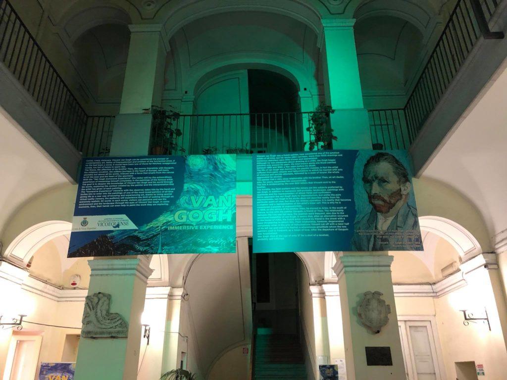 Vico Equense, al Palazzo comunale «Van Gogh Immersive Experience» in 3D
