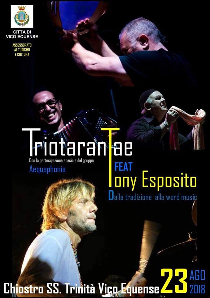Concerto di Tony Esposito, 23 agosto
